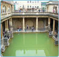 Old Baths in Bath